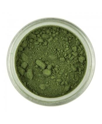Colorante polvo verde olive...