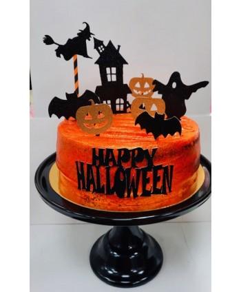 Kit Topper tarta Halloween