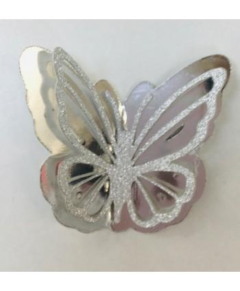 Mariposa cartulina doble