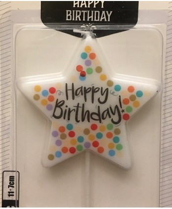 Vela Happy birthday forma...